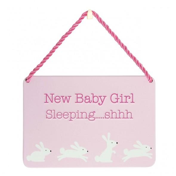Placuta New Baby Girl Sleeping