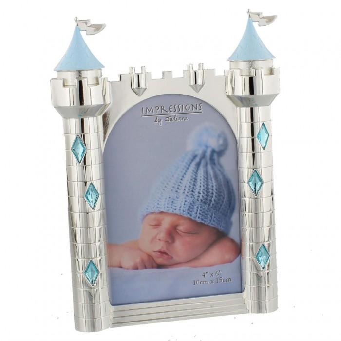 Rama foto argintata castel bleu