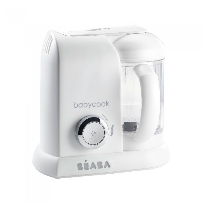 Robot Babycook Solo white and silver Beaba