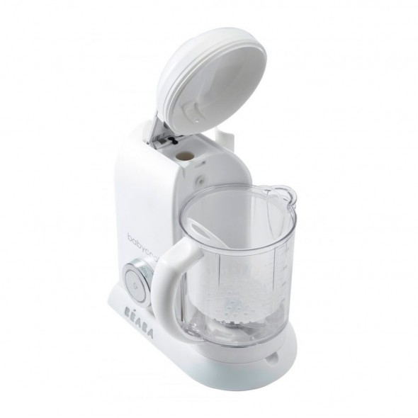 Robot Babycook Solo white and silver Beaba krbaby.ro
