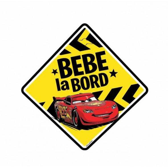 Semn auto Bebe la Bord - Cars