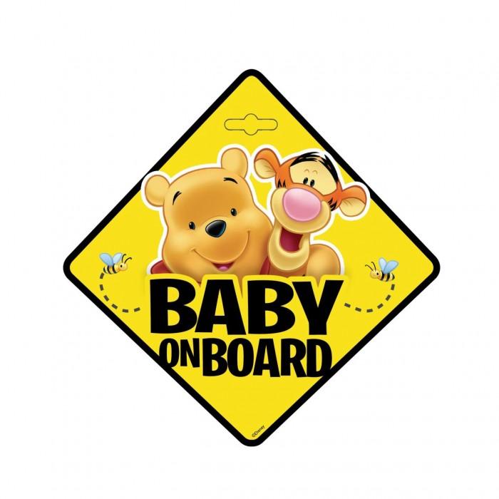 Semn auto Bebe la Bord Winnie the Pooh