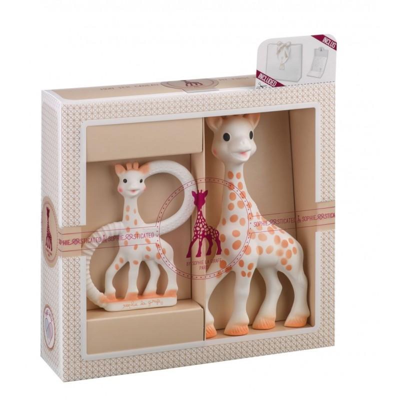 Set pentru dentitie SOPHIEsticat girafa Sophie Vulli