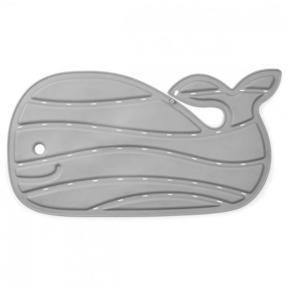 Moby Covoras de baie antiderapant gri in forma de balena Skip Hop