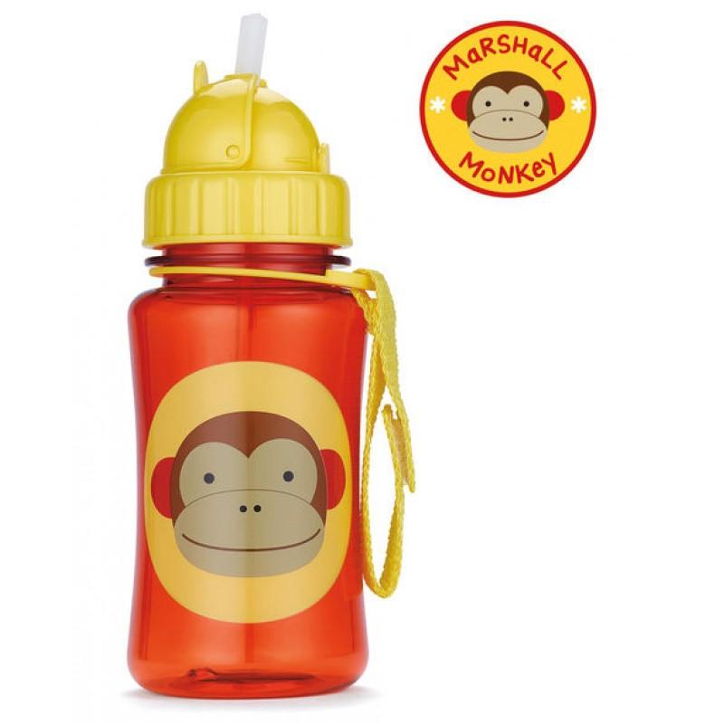 Sticla cu pai maimutica Skip Hop krbaby.ro