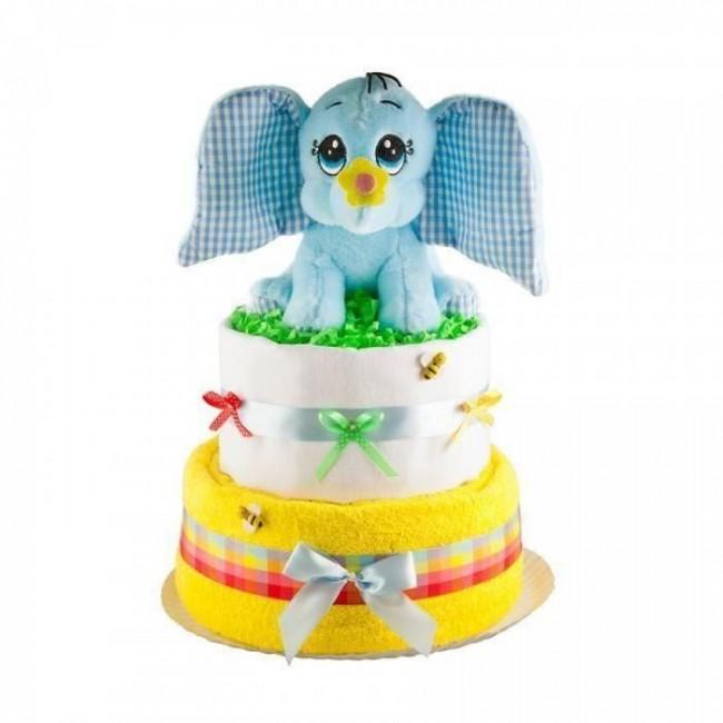 Tort din scutece Pampers - Dumbo