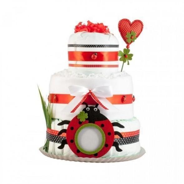 Tort din scutece Pampers - Gargaritele Vesele