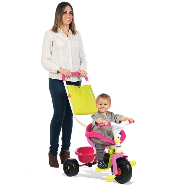 Tricicleta Smoby Be Fun Confort pink krbaby.ro