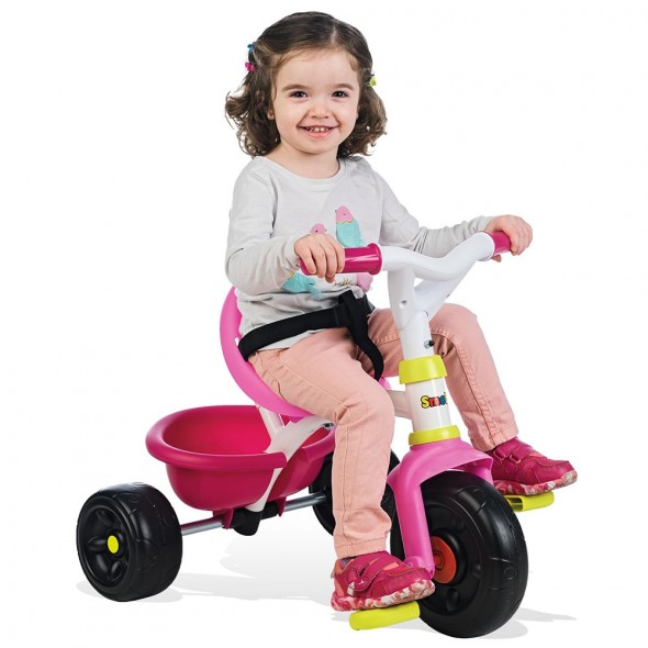 Tricicleta Smoby Be Fun pink krbaby.ro