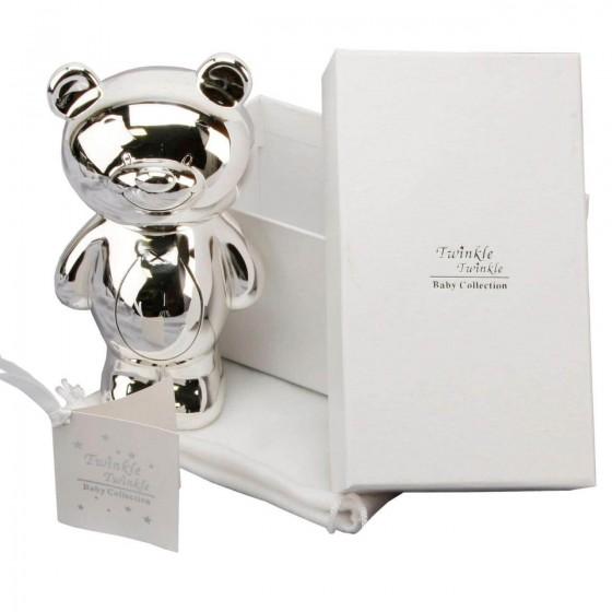 Twinkle Twinkle - Pusculita argintata ursulet