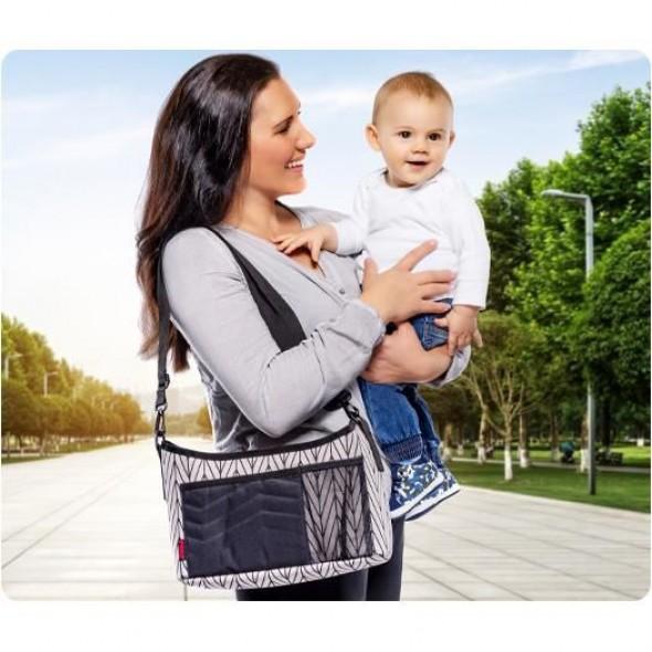 Reer - Organizator si suport de schimbat bebelusul Clip&Go Vario