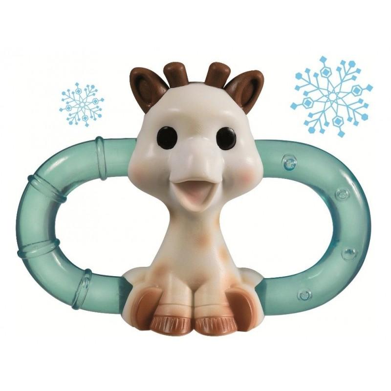 Inel refrigerant dublu Girafa Sophie Vulli