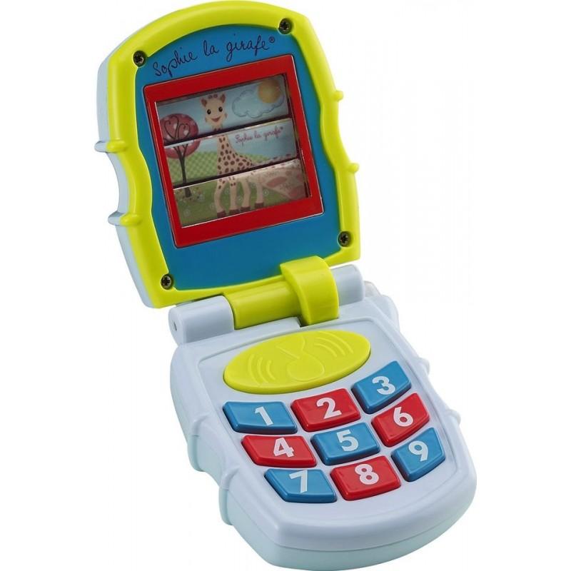 Primul meu telefon mobil muzical Girafa Sophie Vulli
