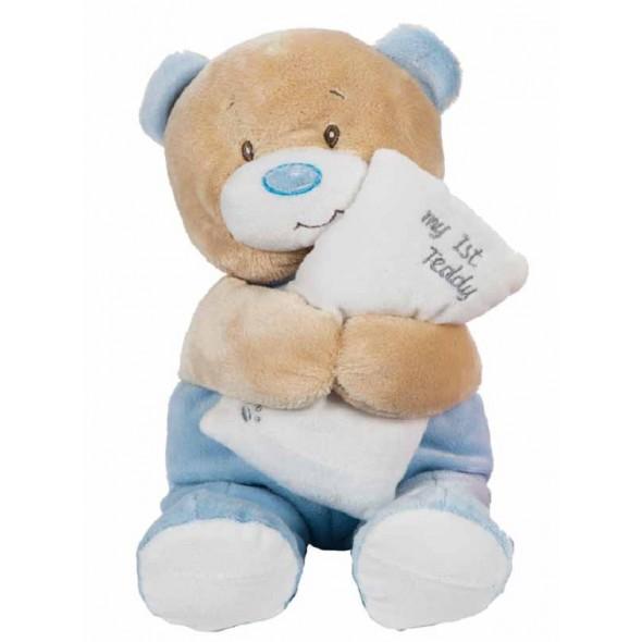 Ursulet de plus My first Teddy bleu