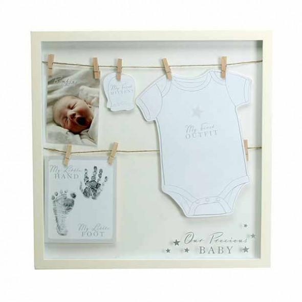 Bambino by Juliana - Rama foto pentru amintiri - primul costumas al bebelusului