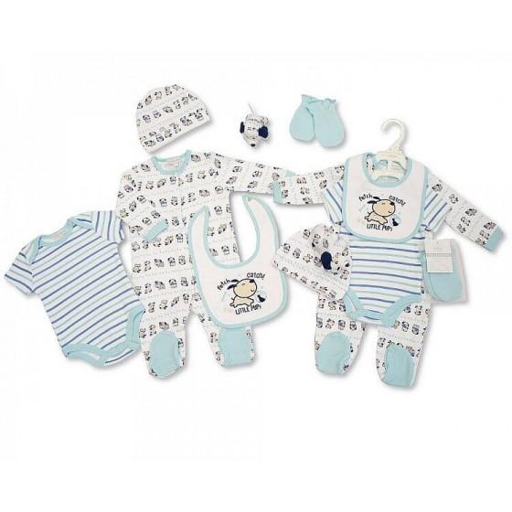 Set cadou hainute bebelusi 6 piese pentru baietei