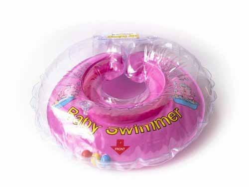 BabySwimmer - Colac de gat pentru bebelusi cu zornaitoare (6-36 luni)