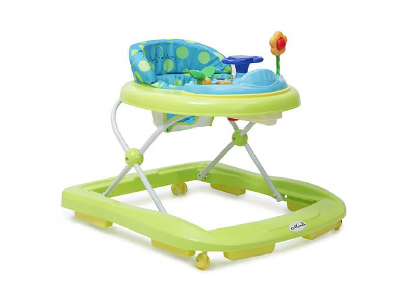 Moni - Premergator copii Baby Walker Infinity verde