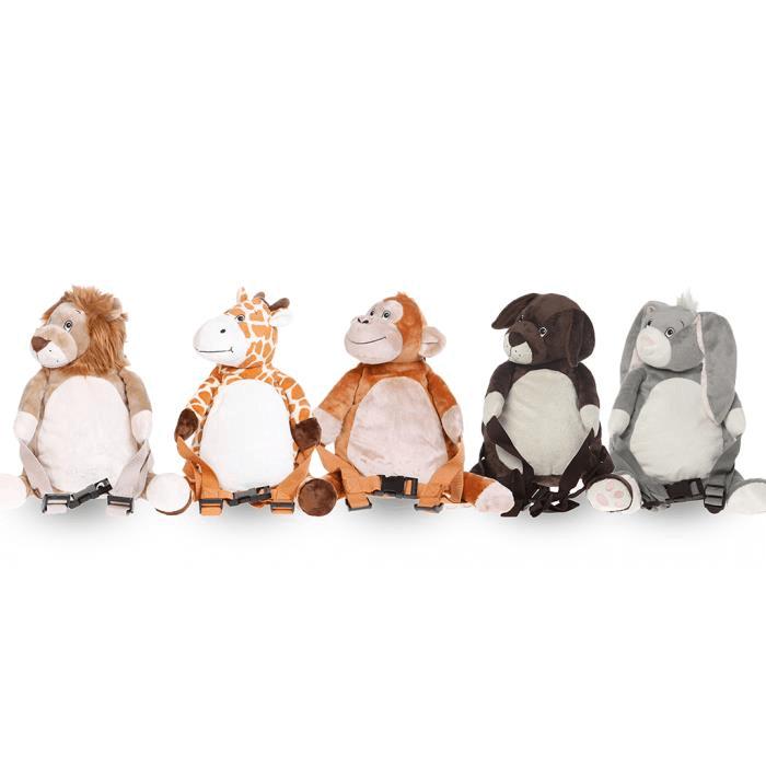 Bobo Buddies - Rucsac cu ham detasabil Happy Monkey