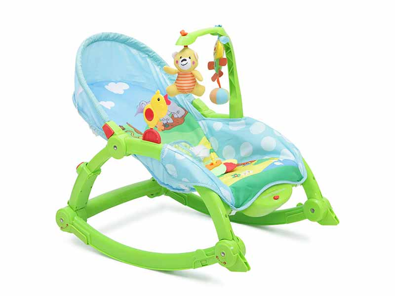 Moni Rocker - Balansoar copii 2 in 1 verde