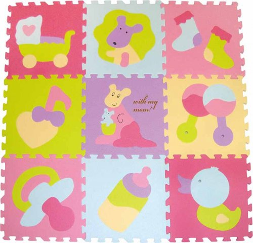 Babygreat - Covoras Puzzle Micul Cangur