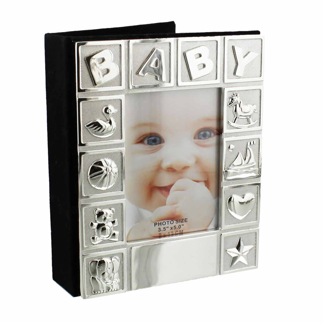 Album foto argintat Baby