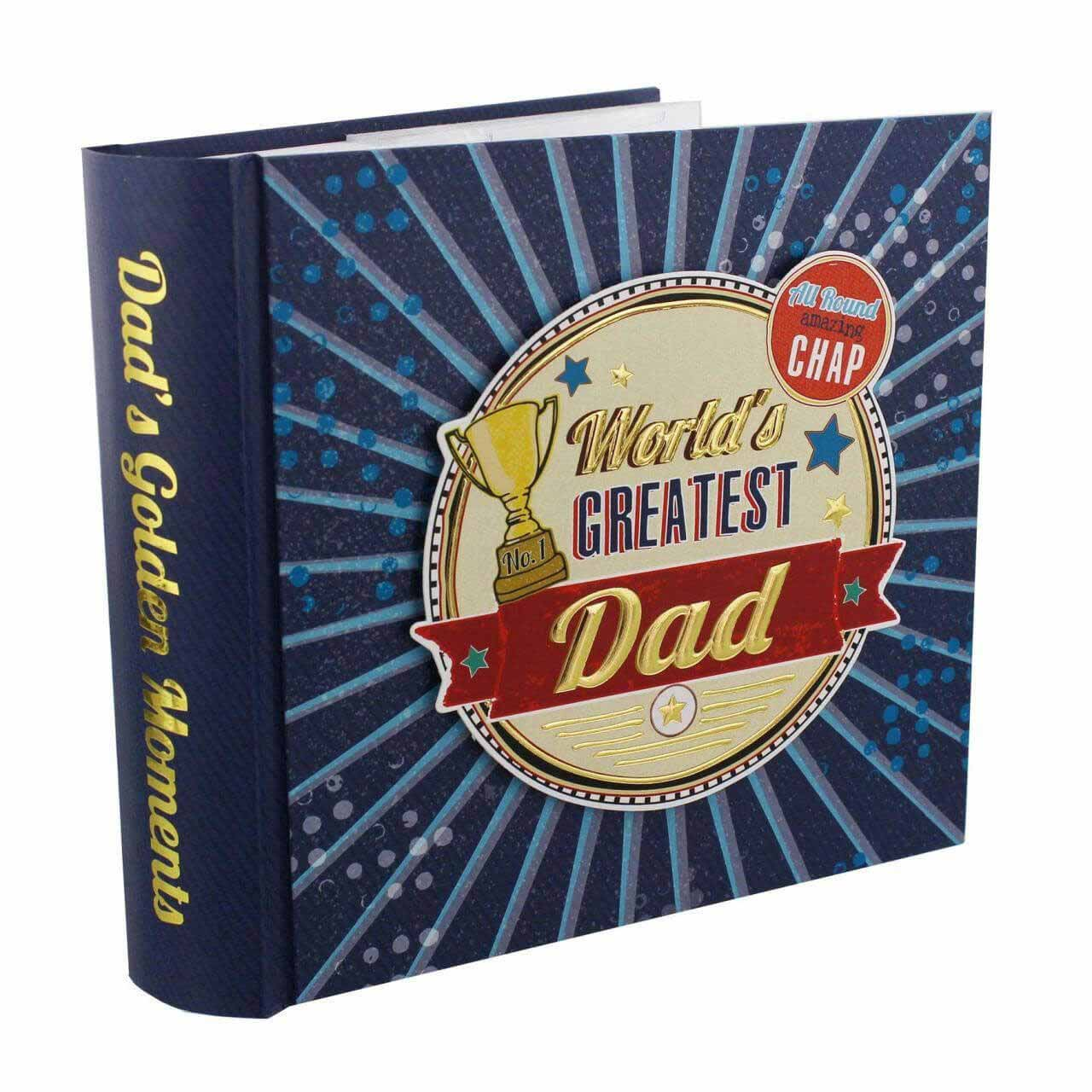 Album foto pentru tatici World's greatest dad