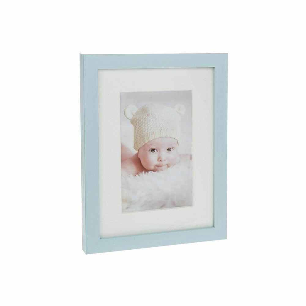 Baby Blue - Rama foto simpla pentru baietel