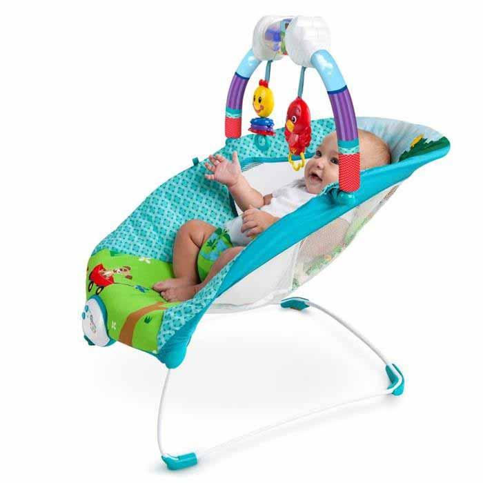 Baby Einstein - Balansoar cu vibratii Caterpillar
