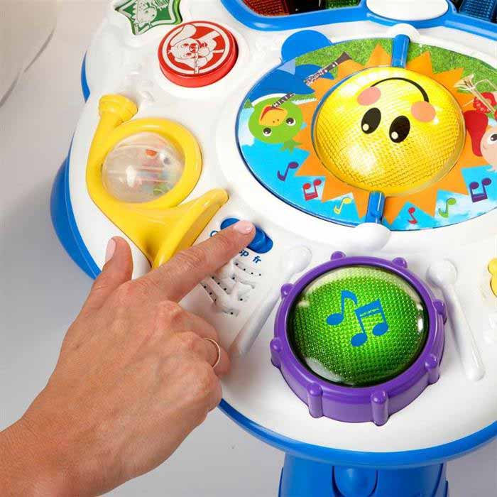 Baby Einstein - Masuta interactiva Discovering Music