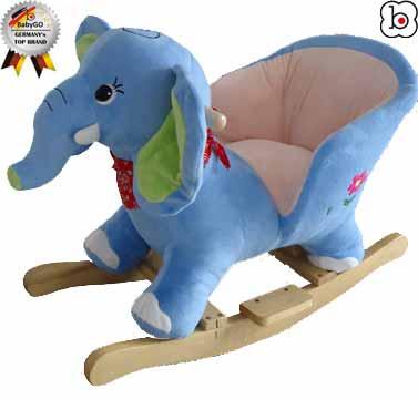 """BabyGo - Balansoar cu sunete """"Elefantelul Curios"""""""