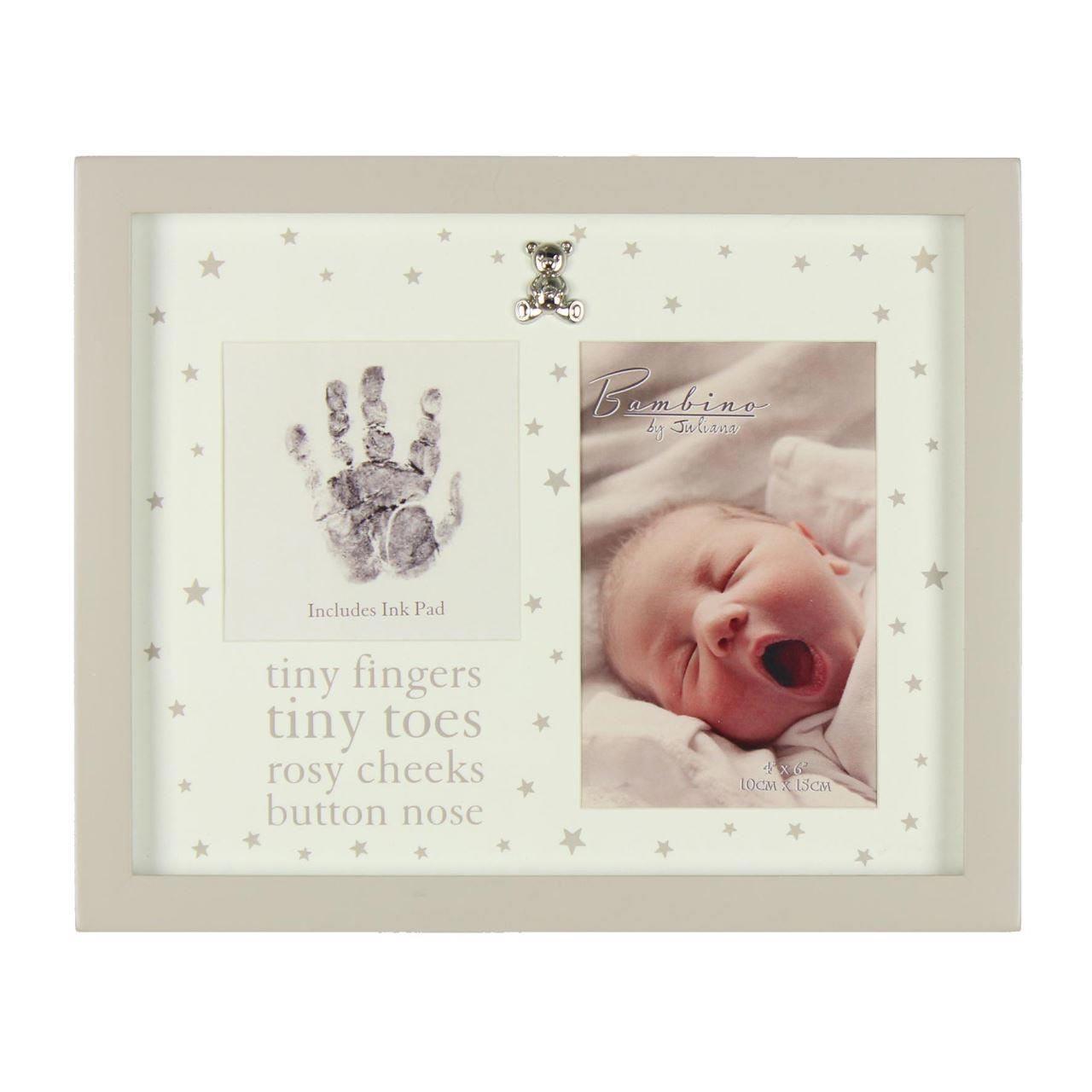 Bambino by Juliana - Rama foto pentru amprenta manutei bebelusului
