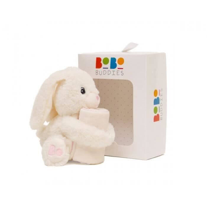 Bobo Buddies - Paturica si jucarioara Betsy The Rabbit