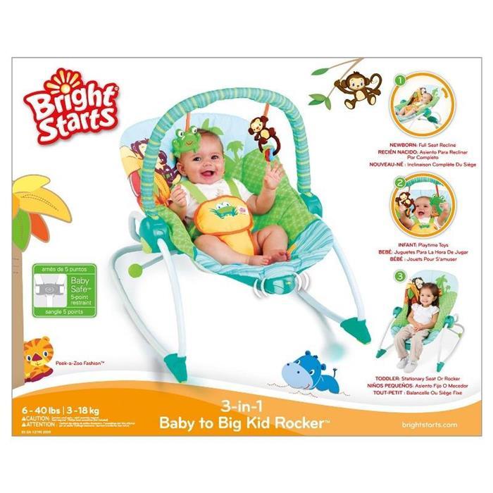 Bright Starts - Balansoar 3 in 1 'Baby to Big Kid'