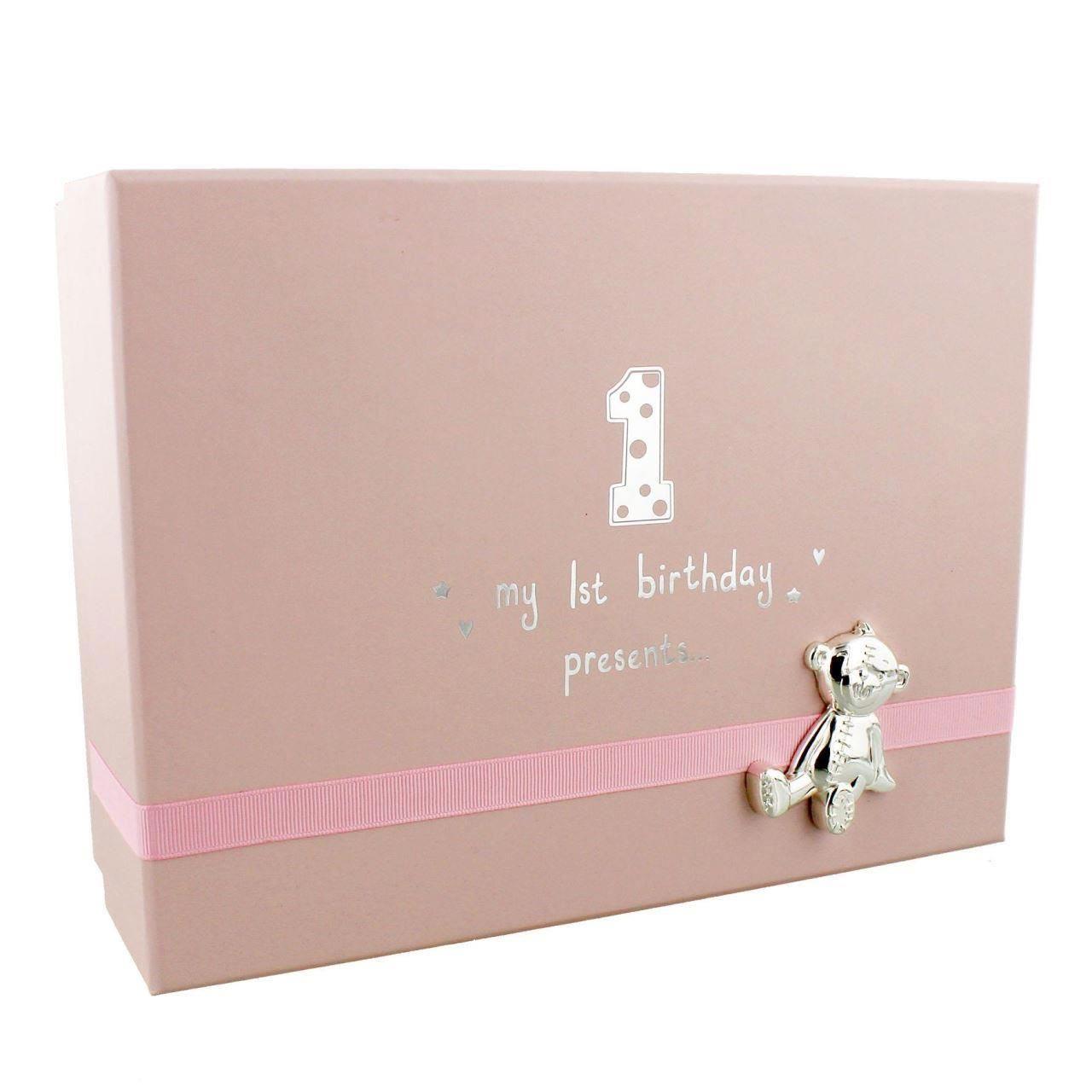 Button Corner - Cutie amintiri My 1st Birthday - pink