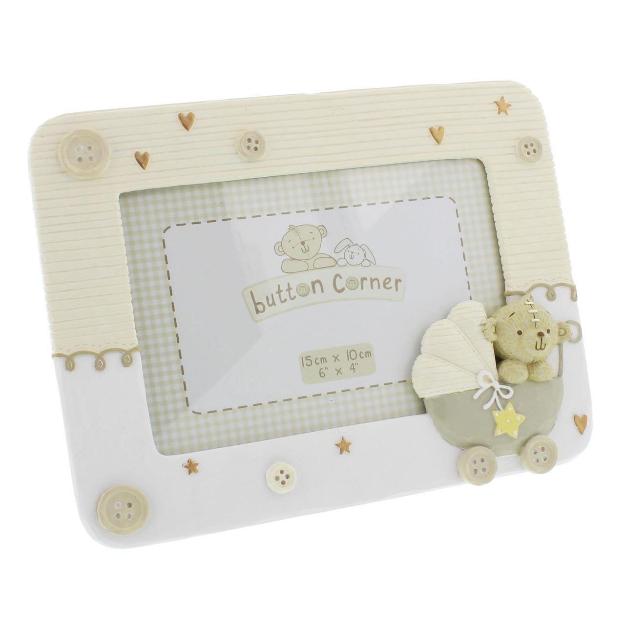 Button Corner - Rama foto bebelus