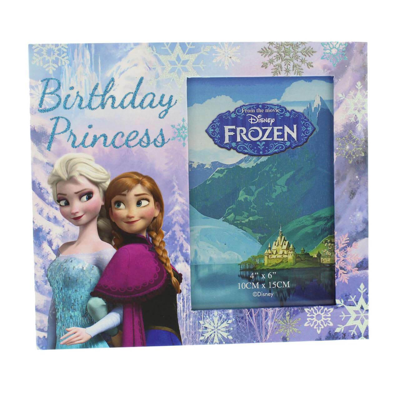 Disney Frozen - Rama foto cu Anna and Elsa