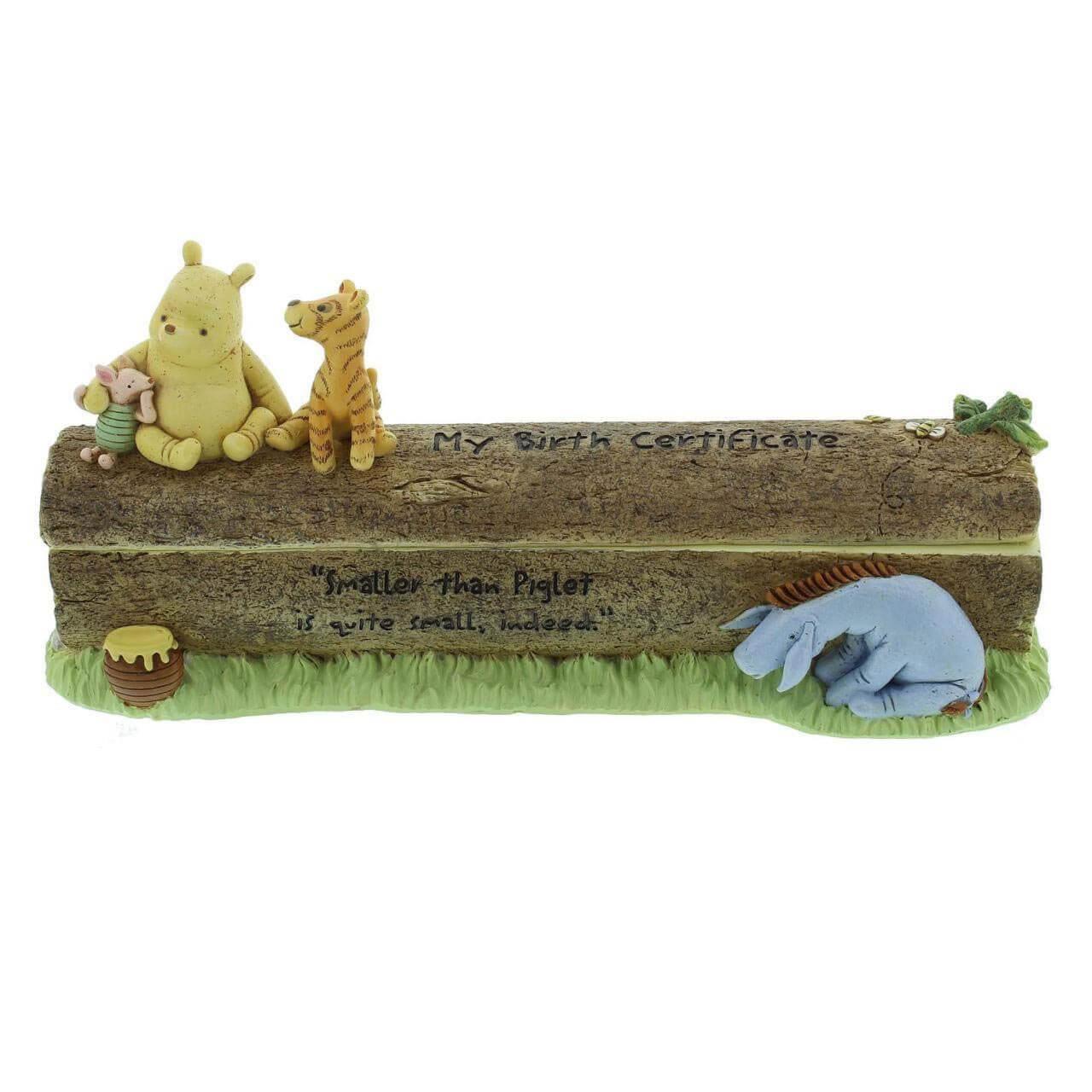 Disney Winnie the Pooh Classic - Suport pentru certificatul de nastere