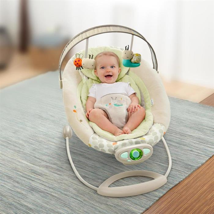 InGenuity - Balansoar Gentle Automatic Bouncer Seneca
