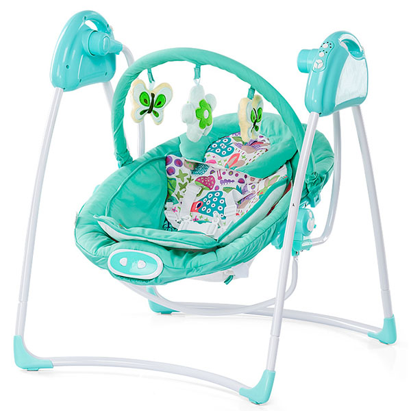 Chipolino Paradise - Leagan electric si balansoar blue&green