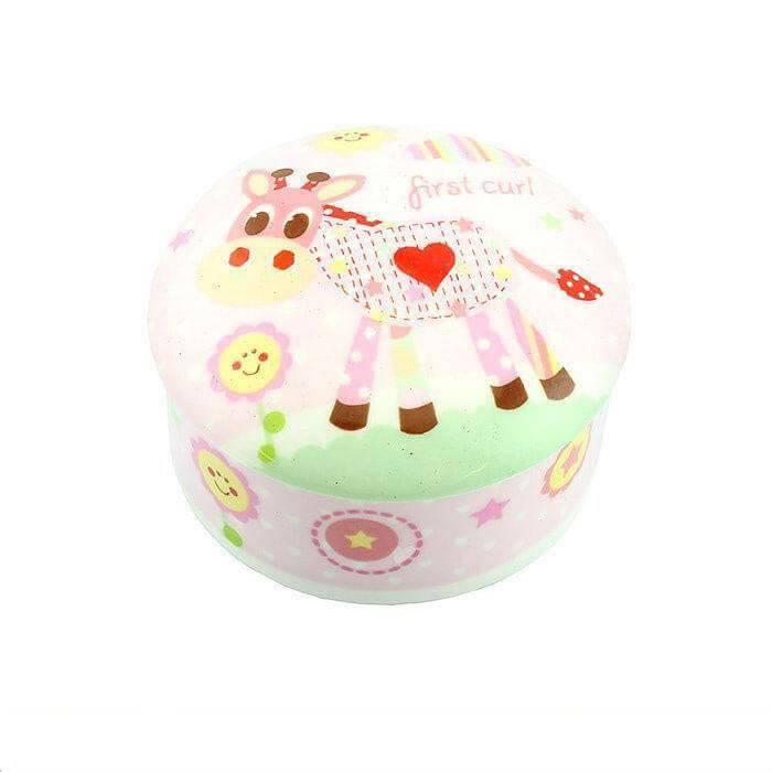 Little Sunshine - Cutiuta roz din ceramica pentru prima suvita