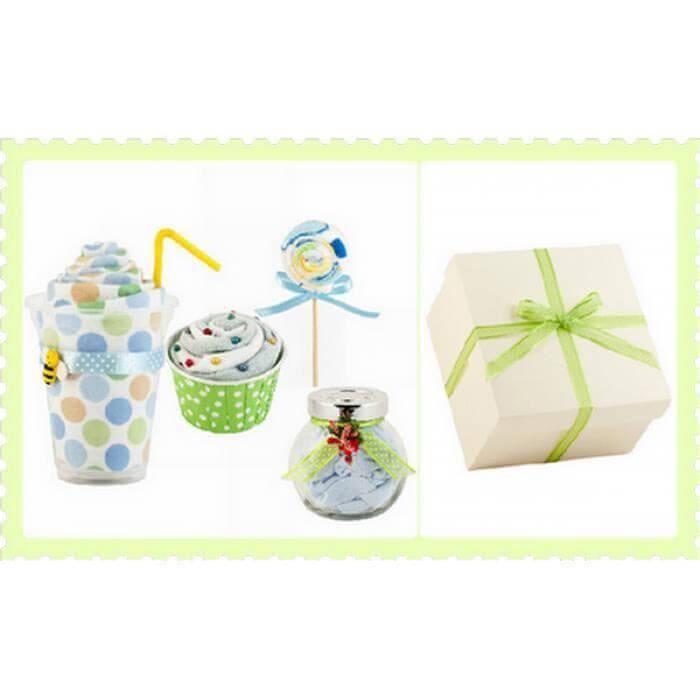 Pachet cadou pentru baietei - 4 piese in forma de dulciuri