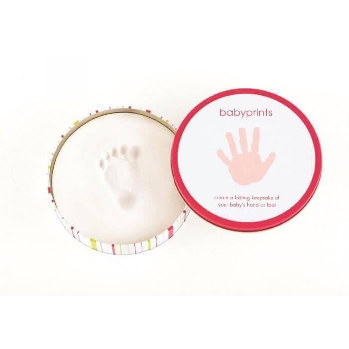 Pearhead - Cutiuta rotunda pentru mulaj manuta sau piciorus - roz