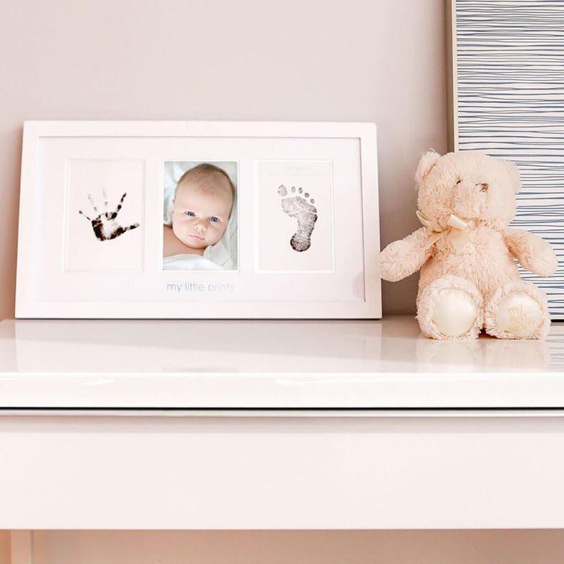 Pearhead - Kit rama foto amprenta cu cerneala pentru manuta si piciorus