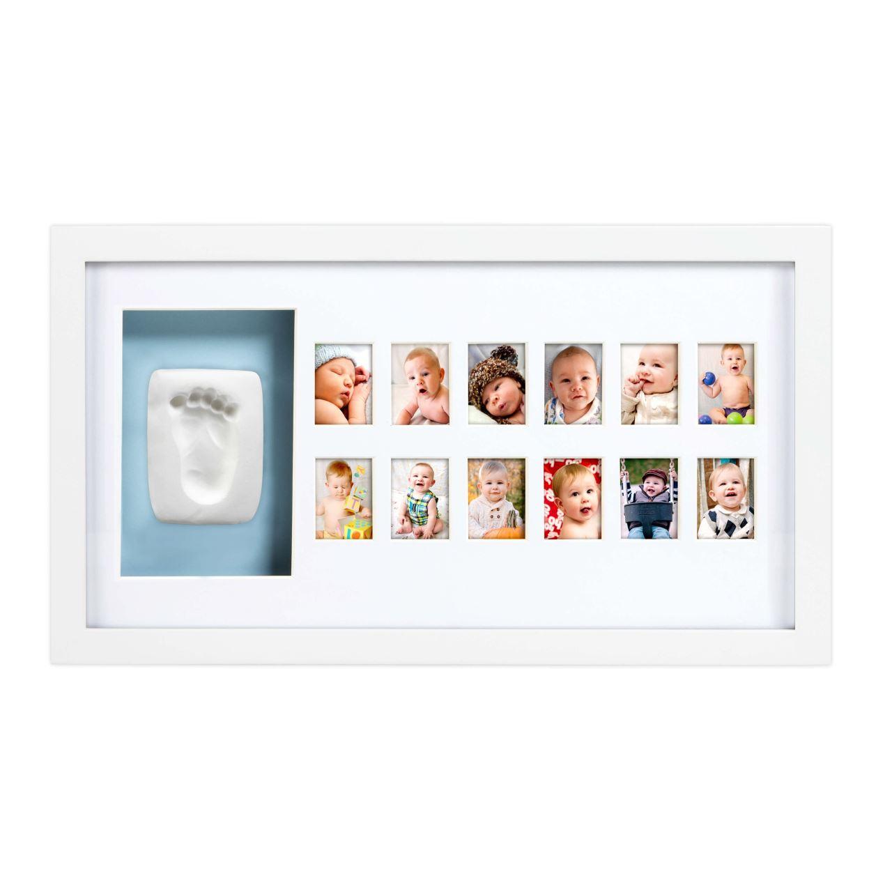 Pearhead - Kit rama foto cu amprenta mulaj manuta sau piciorus - Baby's First Year