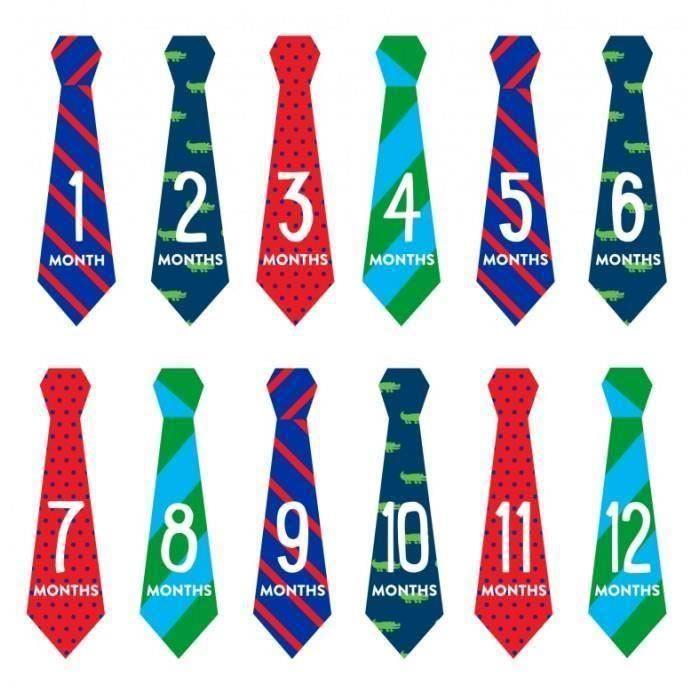 Pearhead - Stickere pentru body First Year - model cravata