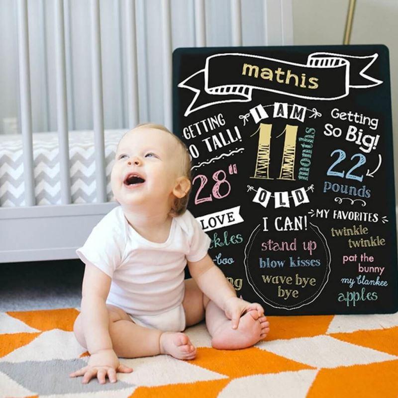 Pearhead - Tabla cu creta pentru primele evenimente ale bebelusului