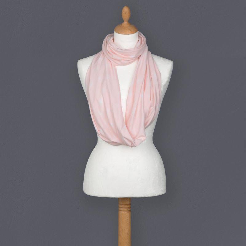 Esarfa pentru alaptare din bambus Comfi Love Pink
