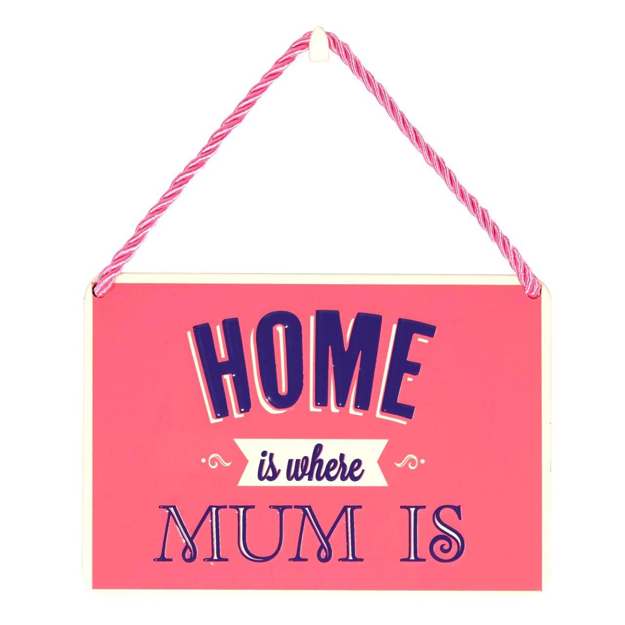 Placuta home is where Mum is