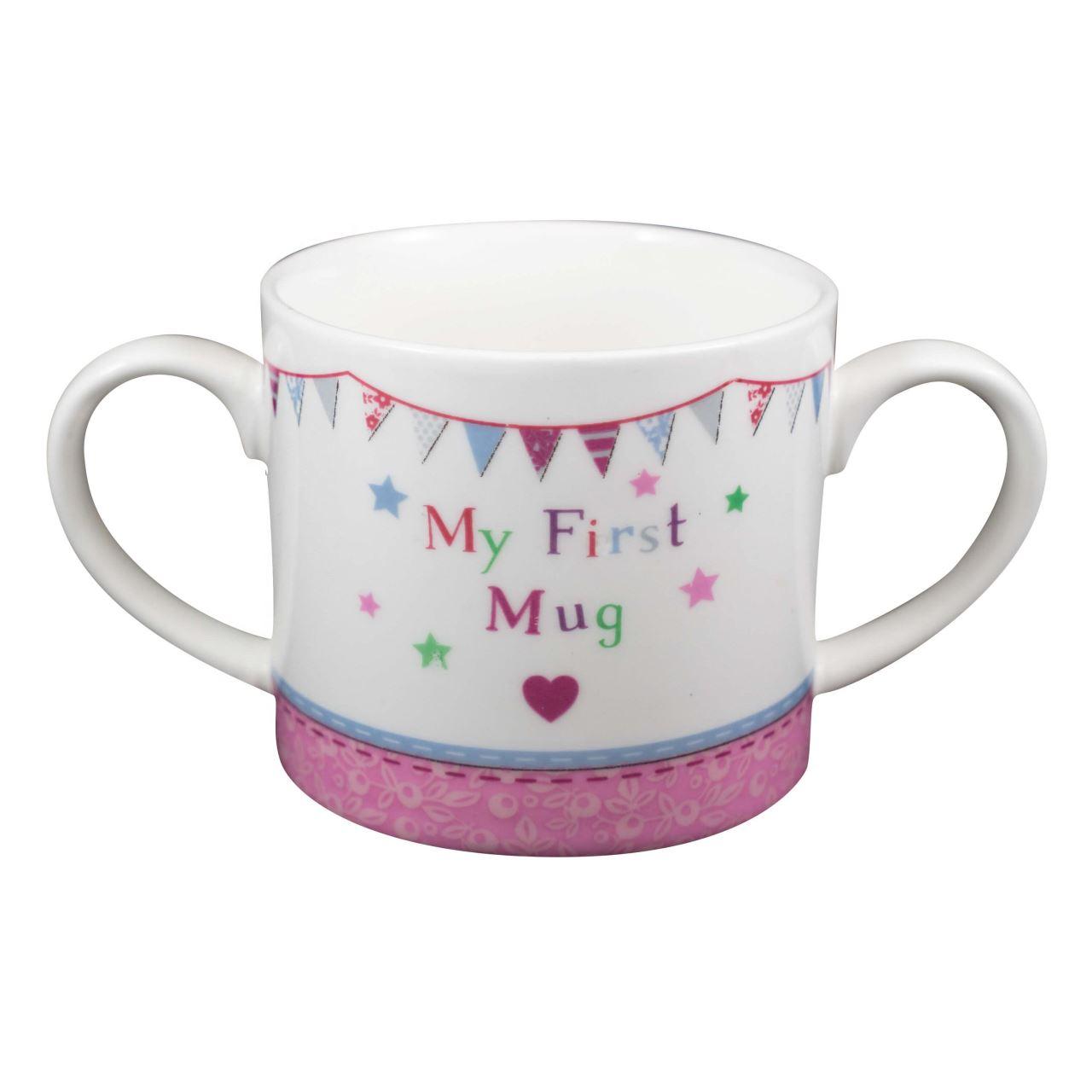 Prima mea canuta My First Mug Baby Girl